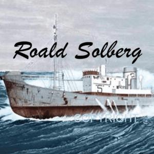 Marinemaler Roald Solberg